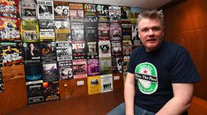 Mike the Pies owner Aiden O'Connor is excited to welcome crowds back to live gigs in the next few months. Photo by Domnick Walsh.