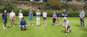 PJ Luddy golf memorial. Past and present members of St. Brendan's College played the annual PJ Luddy memorial golf tournament in Beaufort Golf Club this week. PJ. taught English and Travel and Tourism in the College from the late 1970s until 2008. This is the 11th year of the competition and 12 staff members took part this year. Paul Kelliher was the winner this year with 38 points. Jamie McBride and Paul Kelliher (back row from left), Hugh Rudden, Denis O'Donoghue, Jim O'Brien, Arthur Fitzgerald, Pat Lucid, Trevor Nagle, Mary O'Gorman, Jason Arthur, Mike Leahy and Kieran Herlihy