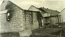 The burned out ruins of Ballymacelligott creamery in October 1920. This image is published courtesy of University College Dublin, National University of Ireland, Dublin. Copyright and reproduction rights for all items in this collection are held by University College Dublin and administered by UCD Archives, UCD School of History and Archives, Belfield, Dublin 4, Ireland