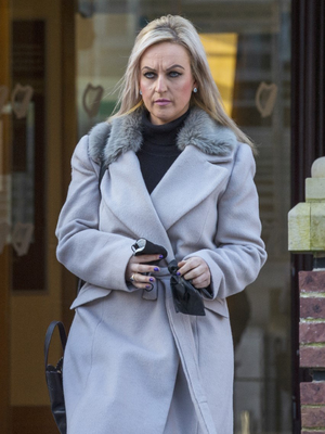 Dr Susan Mary Lawlor outside Cork Circuit                   Criminal Court last Wednesday at the sentencing                   hearing of Cork taxi driver Denis McSweeney. She spoke                   of her loss of her big brother, best friend and                   colleague in a victim-impact statement which she                   delivered remotely at the sentencing hearing. Photo:                   Provision