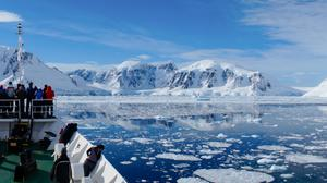 Damian Foxall, Niall MacAllister and Lucy Hunt will discuss their recent trip to Antarctica