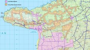 Irish Water mapping of the areas in Ballyheigue and Causeway subject to the boil water notice that is still in effect.