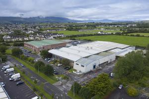 The Borg Warner complex in Tralee's Monavalley Industrial Estate - set to close by March 2021. Photo by Domnick Walsh