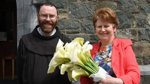 Catherine Moriarty, Killarney at the Blessing of the Lilies at the Franciscan Friary, Killarney on Sunday. Photos by Michelle Cooper Galvin