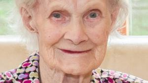 The late Mai O'Donoghue who passed away last Wednesday at the age of 103