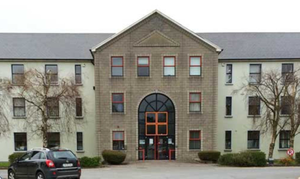 Kerry County Council Head Office at Rathass in Tralee. Stock Image