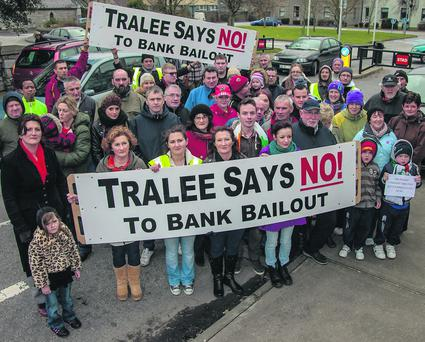 Tralee Says No Protest March from the county buildings on Sunday