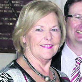 Councillor Breda Moynihan Cronin, who is retiring from political life