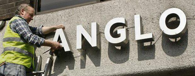 Anglo - the bank is gone but the pain continues.