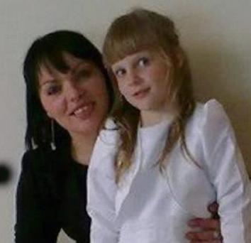 Mum Jolanta Lubite and her daughter Enrika Lubite.
