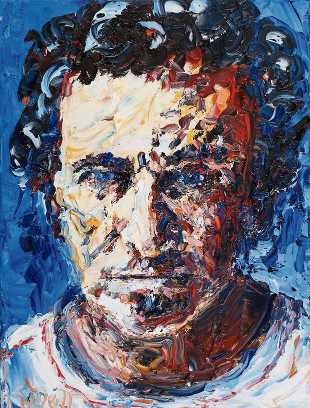 West Kerry artist Liam O'Neill's portrait of Bruce Springsteen