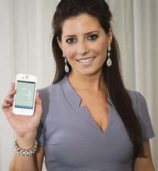 Olivia Buckley of Olivia Buckley Events, Killarney, who has developed a bespoke wedding app.