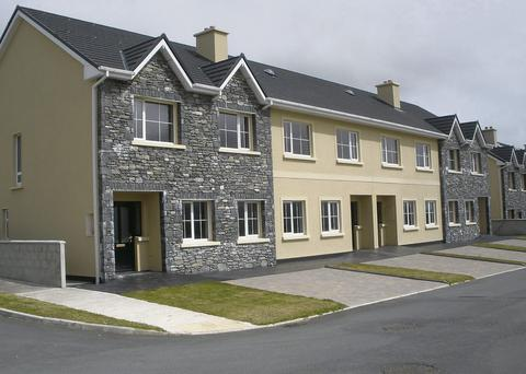 The Uaran an Toirin development in Killorglin where the remaining three-bed homes are available for €150,000.