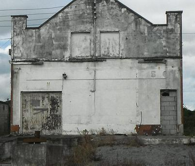 From that to this...how the Old Bakery looked before and after its Tidy Towns makeover.