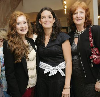 Muireann Hickey, Mountcollins, Karen Collins, Abbeyfeale and Joan Hickey Mountcollins at the Start Showcase of Irish Design and Broken Down Doll Vintage Doll preview party at MacBees, New Street, Killarney on Thursday.