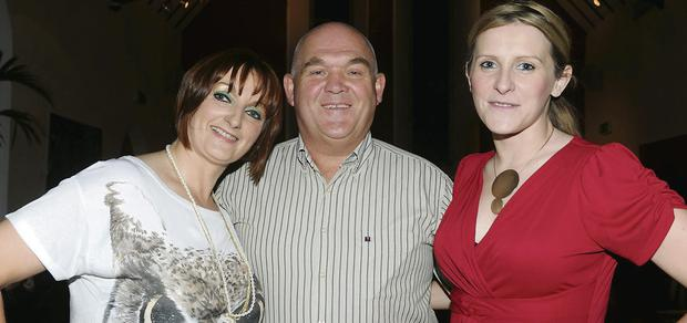 Organiser Fiona Hyde, John Evans,and auctioneer on the night Catherine Teahan at the Killorglin Charity Fashion Show.