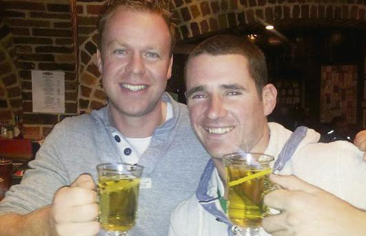 John Paul O'Regan and Shane Leen from Ballymac in Australia.