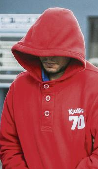 Polish man Daniel Seweryn Mirga (29) coming out of Tralee courthouse yesterday (Tuesday).