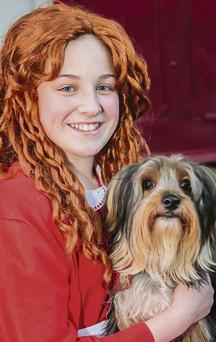 Isabella Flamini as 'Annie' in Bryan Carr School of Performing Arts