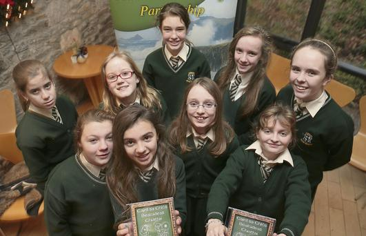 Pupils from Loreto Primary School, Killarney, who were involved, include, Áine O'Connor, Alana Sheahan, Eimear Beazley, Aishling Reidy, Zena Shine, Nuria Medrano, Emily Shaw, Ruth Courtney and Ciara Randles.