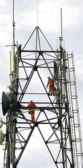 Phone masts must be more than 1km from houses, schools and work places.