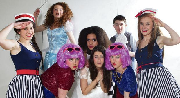 Transition Year students from Colaiste Ide agus Iosef who will be performing Cinderella this week are: Daniel Leahy, Andrea Collins, Kerrie Ann Finucane, Jackie Hartnett, Deirdre O'Connor, Joanna Maynard, Muireann Hickey and Ashling Scanlon.