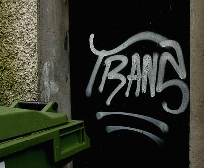 The Graffiti the keeps appearing around Denny Lane and The Square