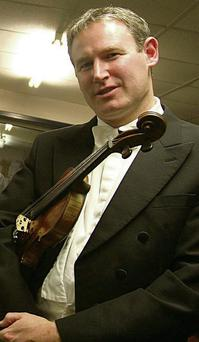 Tralee violinist Kenneth Rice.