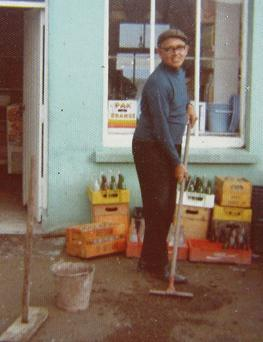 Chapeltown shopkeeper Jerh Lynch.
