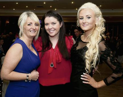 Michelle Halpin, Norma Curtin and Jacqueline Halpin from Listowel.