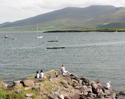 The beautiful scenery at Cloghane in west Kerry.