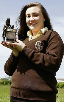 Nano Nagle Student of the Year recipient Clodagh Kissane. Photo: John Stack.