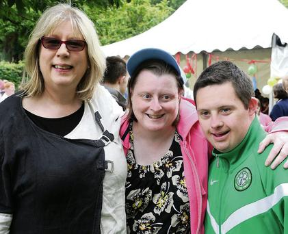 Jo Harrington, Catherine Fleming and Stephen Brosnan
