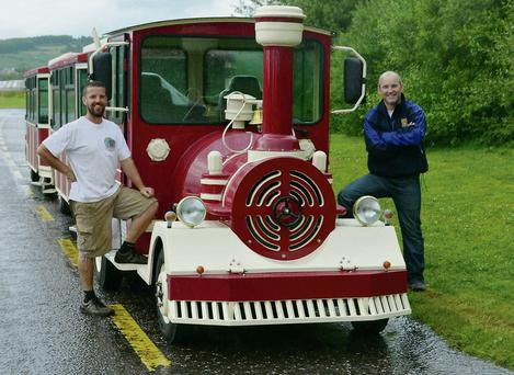 The new Killarney Road Train is now up and running in the town