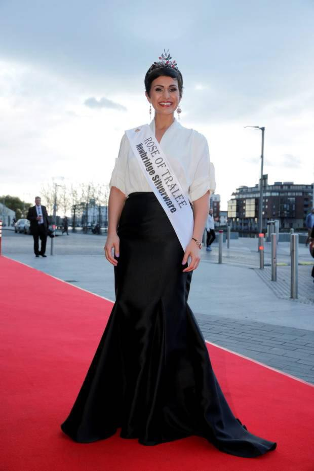 Rose of Tralee Maria Walsh at the VIP Style Awards
