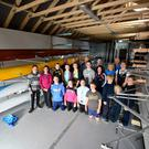 Members of Tralee Rowing Club and volunteers have been busy preparing for the season ahead: the boathouse was stacked with all the boats and had its open day on Sunday .