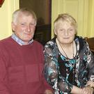 Mike and Noreen Barrett from Monagea pictured at the launch of the 7th Annual Gary McMahon Singing Weekend, last Friday night in The Ramble Inn, Abbeyfeale