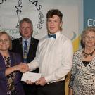 Oisíin Ó hEartáin, Ballyferriter took top honours in the Third Level Students' Creative Writing category