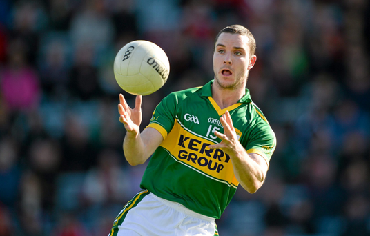 Patrick Curtin, playing for Kerry
