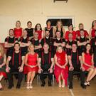 Dancers take a break from rehearsals for the upcoming Ballymac GAA Strictly Come Dancing event which takes place at Ballygarry House Hotel on Saturday, February 13