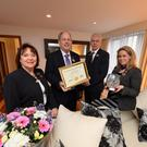 Left to right: owners Eibhlín and Dick Henggeler, general manager Mark Sullivan and accomodation manager Cathy Rael