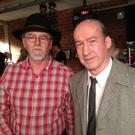 Beale native Liam Hannon with famous German actor Ulrich Noethen star of Die Akte General in the role of Fritz Bauer