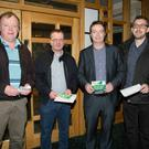 (From left) Danny O'Leary, John Devane, Mike Ryle and Aidan Quirke at the Cheltenham Preview