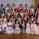 The young girls who were Rosebuds at the 2015 Rose of Tralee Festival