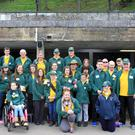 Kerry pilgrims enjoying the atmosphere of Lourdes on their recent trip with the Irish Pilgrimage Trust