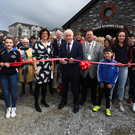 "Tralee Rowing club held its official opening of its New Stat of the art Boat house over the weekend located on the Tralee Ship Canal Tralee Co Kerry. Pictured at the opening were - Jimmy Deenihan officially opened Tralee Rowing Club ""John O'Shea Boathouse"". Photo: Domnick Walsh"