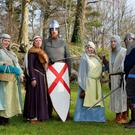 Members of Déise Medieval who will be performing at Tralee 800