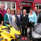 The Duagh Motorcycle Charity Run Committee: From left, James Dillon, Mike Carmody, Louise O'Brien, Bridie Carmody, Rose Costello, Pat Stack, Mary Stack, Emma Stack, John Joe O'Brien, Tony Gould and Brendan O'Brien