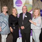 Launching the Kerry Nurture charity were Marysia Moore (Limerick counsellor), Margaret O'Halloran (Kerry counsellor), Brian Lowry (delegate), Irene Lowry (Nurture founder and CEO) and Lisa Furlong (Nurture Dublin)