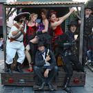 The Wild West Troupe created a lively atmosphere. Photo Valerie O'Sullivan